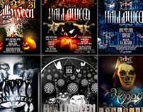 PSD Halloween Posters / Flyers