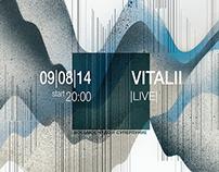 Poster - Vitalii LIVE  (Festival 84udo)