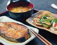 Teriyaki food dishes