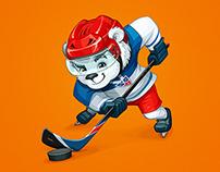 Ice Hockey Tournament Mascot