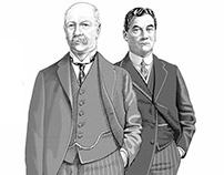 Corporate magazine cover portraits