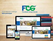 FCG website redesign