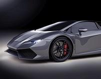 Lamborghini Huracan retouching project