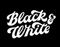 Black&White lettering selection VOL1
