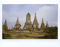 Instant Film Photography: Thailand