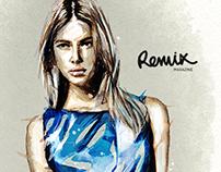 Remix Magazine / Illustrations