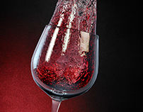 CGI Wine Poster