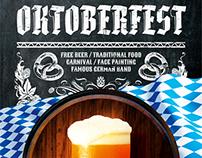 Oktoberfest Festival Poster vol.4, PSD Template