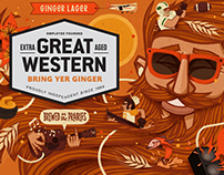 """""""Bring yer Ginger"""" Great Western Brewing"""