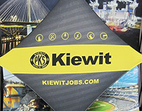 Kiewit Recruiting Displays, 2014