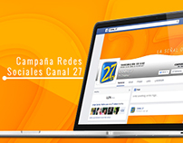 Campaña Redes Sociales Canal 27