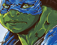 TMNT: Legend of the Yokai Poster