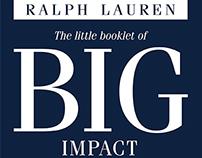 Ralph Lauren Community Service Booklet
