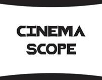 Cinema Scope Typeface