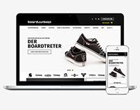 BOARDJUNKIES – Web Design