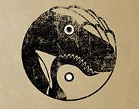 DinoChicken Project Branding/Identity/Illustration