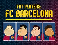 Fat Players: FC Barcelona