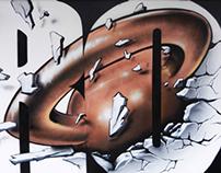 CROSSFIT GVA - Graffiti work