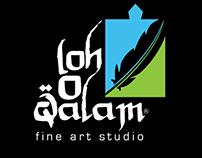 Loh-O-Qalam Logo & Stationary