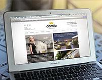 Website for Domio Home Interiors