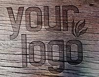 Wood Logo Mock-Ups