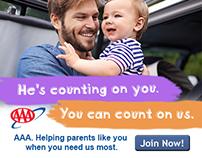 AAA Membership Ad Campaign