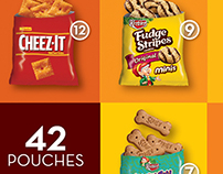 42 Pouches - Cheez-It & Keebler