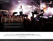 The Band Wordpress Theme for Musicians