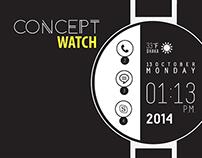 Concept Watch (ROUND FLAT)
