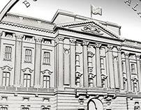 Buckingham Palace Medallion