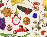Bizarro Fruit - A to Z