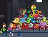 Animation for Showcase Cinemas