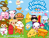 Friends Forever Coloring Book