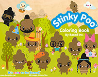 Stinky Poo Coloring Book