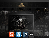 Tarsus - Onepage HTML5 Theme