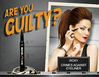 Benefit - They're Real Eyeliner Interactive Website