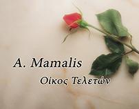 A. Mamalis: Website design
