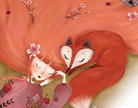 fox&girl