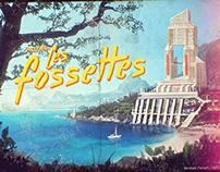 Les Fossettes | Digital Painting