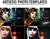 Artistic Photo Templates with Lots Of Options