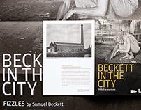 Beckett in the city – Leaflet design