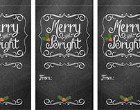 Holiday Gift Tags and Labels Snapfish©