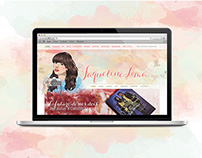 Jaqueline Lima (Wordpress Theme + Social Media)