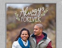 Always and Forever Engagement Photobook Snapfish©