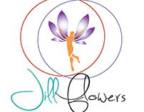 Jill Flowers logo design