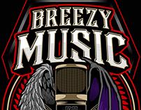 BREEZY MUSIC LOGO