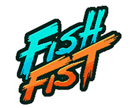 """Artwork of the indie game """"Fish Fist Arcade"""""""