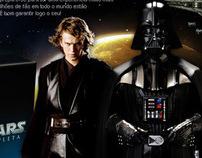 Hotsite da Trilogia do Star Wars