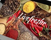 Livefreshr - fresh made easy