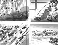Storyboards-Line with tone